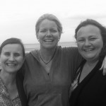 Melissa, Karen & Debby celebrating ten years of Birthtalk in 2012